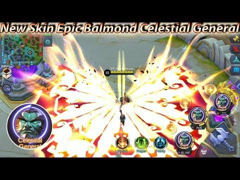 New Skill Effect Hero Balmond Skin Epic Celestial General - Mobile Legends