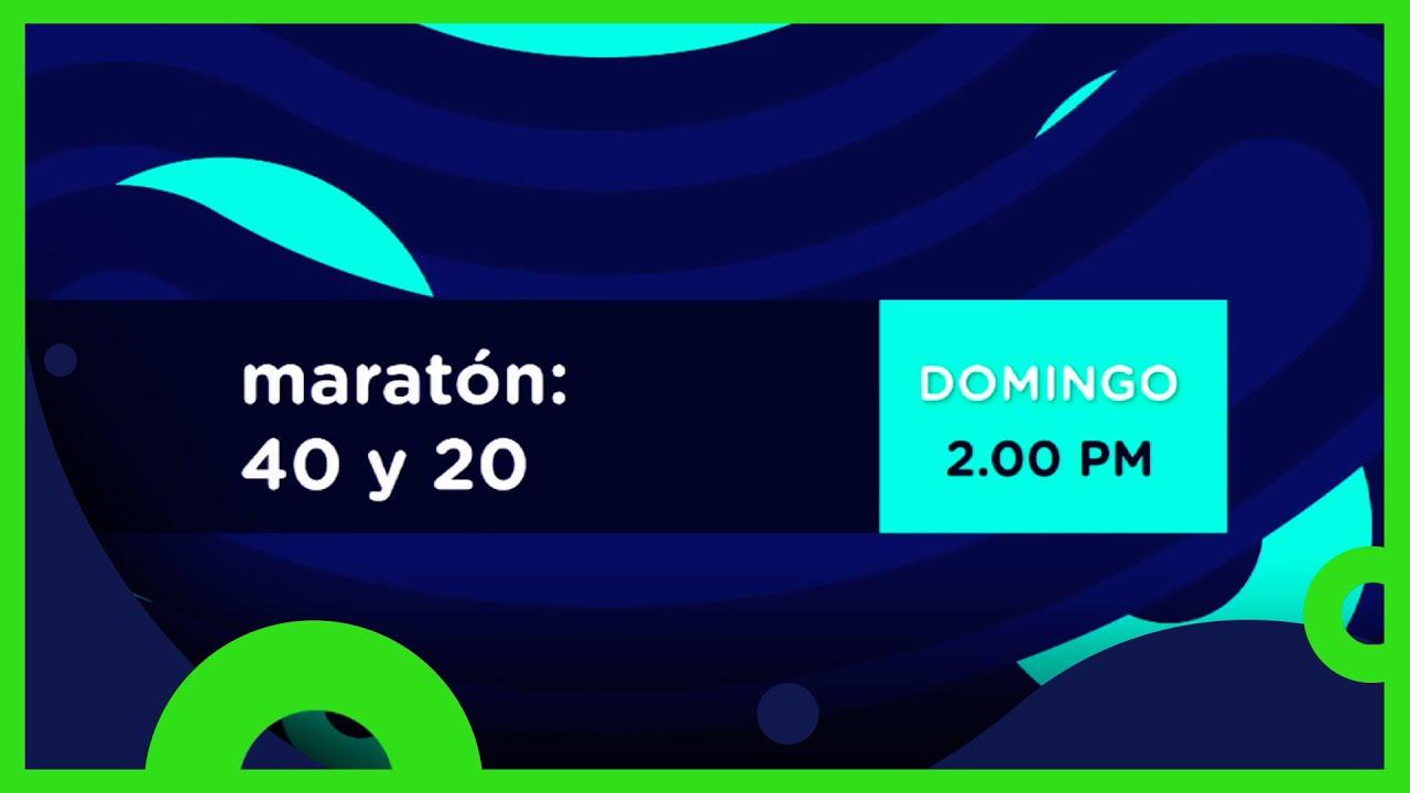40 y 20: Maratón | Domingo 2 PM | Distrito Comedia