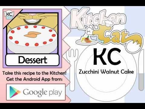 Zucchini Walnut Cake - Kitchen Cat