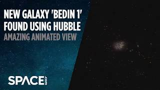 Hubble Spots a New Galaxy By Chance