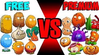 Team Plant Defend FREE vs PREMIUM - Who Will Win? - PvZ 2 Team Plant Vs Team Plant screenshot 4