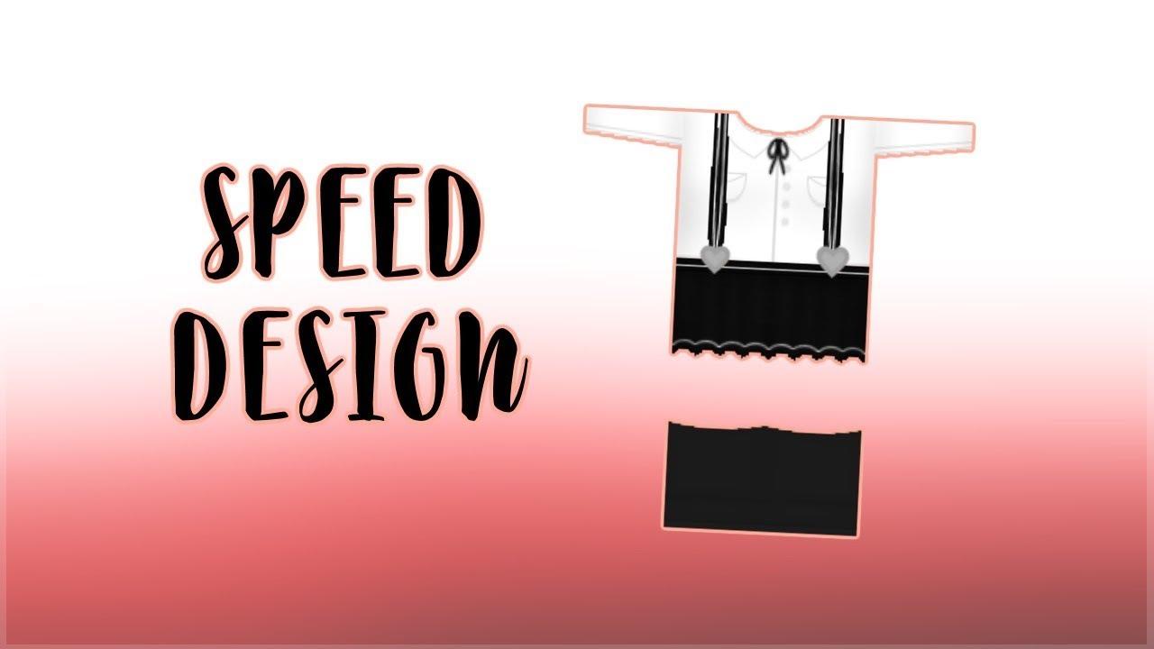 Kawaii White Button Up Shirt W Black Suspenders Dress Roblox
