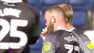 Rooney free kick against Preston