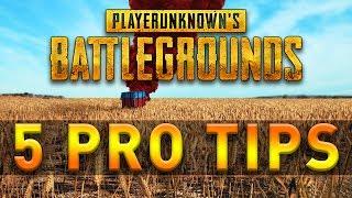 5 PRO TIPS & TRICKS - Players Unknown Battleground PUBG German Deutsch Tutorial Guide