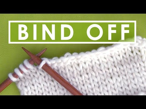HOW TO BIND OFF with Kristen from Studio Knit
