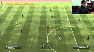 FIFA 13 Casillas Delantero, CRonaldo Portero, Partido epico (LIVE 2.0)