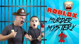 Je vais à JAIL!!! Mystère de meurtre (en anglais seulement) 👮🏻🔪 ROBLOX