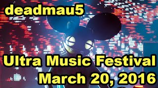 Deadmau5 @ Ultra Music Festival Miami 2016 - Day 2 Full set