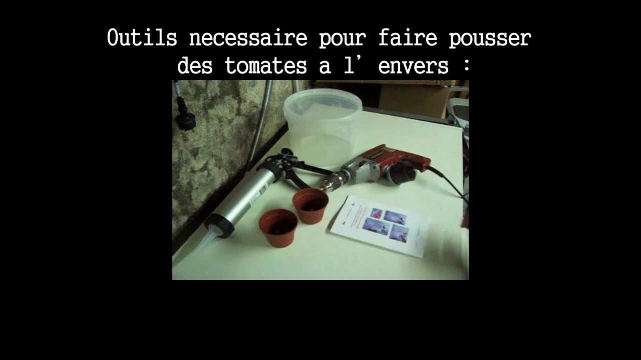 Pr sentation tuto comment faire pousser des tomates a l 39 envers youtube - Comment faire pousser des tomates ...