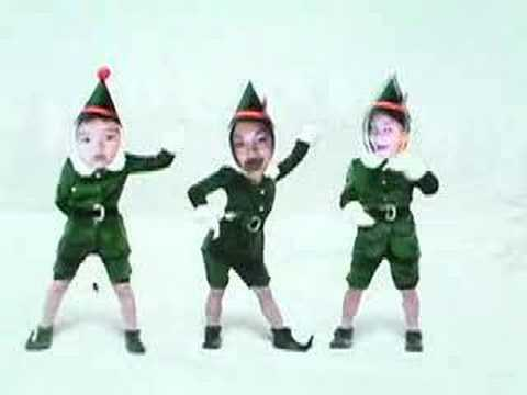 merry xmas elves - Merry Christmas Elf