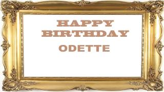 Odette   Birthday Postcards & Postales - Happy Birthday
