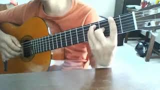 Afgan Jodoh Pasti Bertemu Fingerstyle + Tab + Guitar Pro + Lirik Subtitle