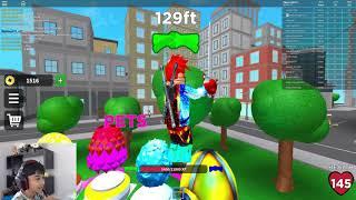 Roblox Ninja Fighting Simulator- Ces voleurs et les brutes ne peuvent pas me tuer! 🐱 👤🐱 👤🐱 👤🐱 👤