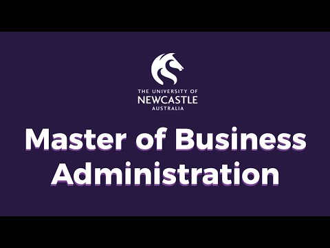 University of Newcastle - Master of Business Administration