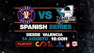 SBL Spanish Series. Partido 3: Astros de Valencia vs Tenerife Marlins