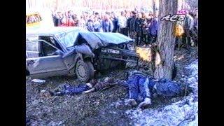 Бухой на Volvo 4 пацанов на обочине раздавил