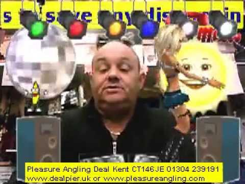 bank holiday mondays weather @ pleasure angling tackle shop deal kent 6th april 01304 239191