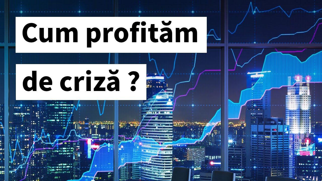 Cum sa profitam de o criza financiara ?   Idei si solutii