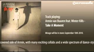 Armin van Buuren feat. Winter Kills - Take A Moment