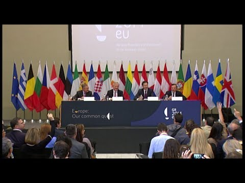Informal Eurogroup, Athens 1.4.2014, Press Conference