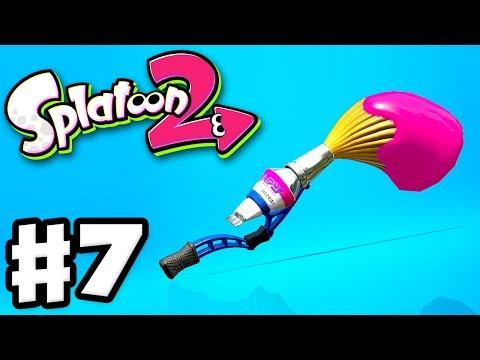 Splatoon 2 - Gameplay Walkthrough Part 7 - The Inkbrush Returns! (Nintendo Switch)