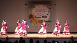 Nihonkairali ONAM 2014 - Ladies Cinematic Dance