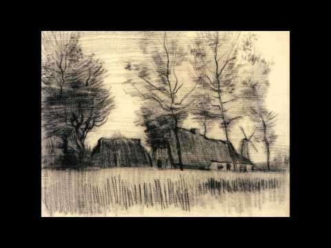 Vincent van Gogh Works with Relaxing Organ Music, Reflection and Meditation  Vol.10