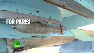 'For Paris': Russians sign ISIS-bound bombs