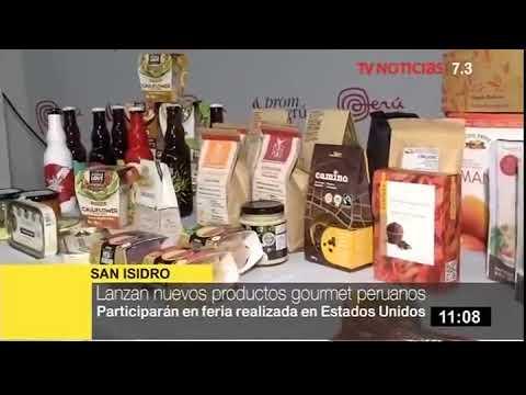 Lanzan nuevos productos gourmet peruanos (Canal 7.3)