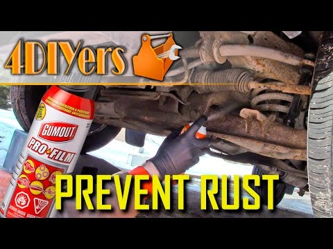 DIY: How to Oil Spray a Vehicle