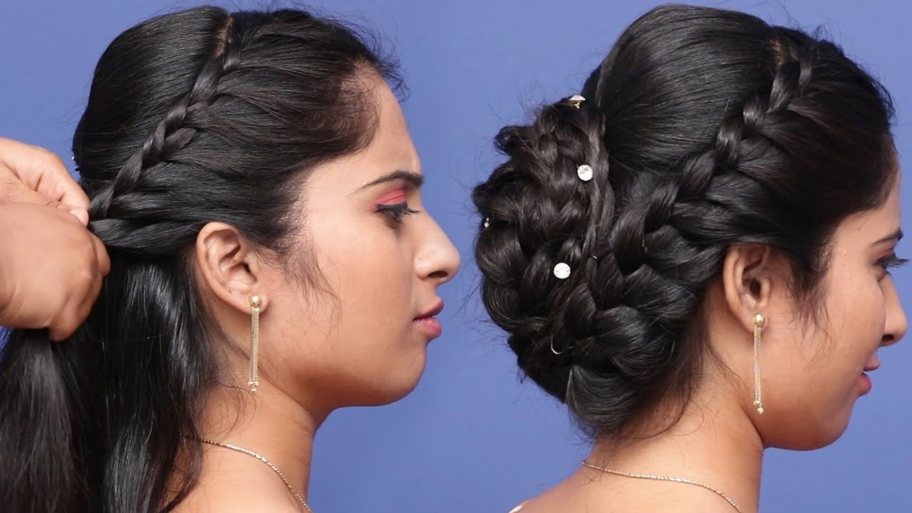 Beautiful Hairstyle For Marriage And Wedding Party