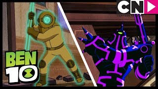 Ben 10 | Scared Ben Fights Ghosts In Haunted House | Scared Silly | Cartoon Network