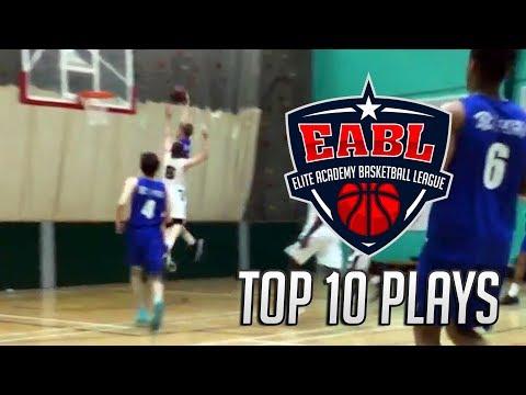 EABL Top 10 Plays Week 7 - 2017/18 Season