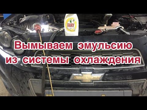 Чем промыть систему охлаждения двигателя? Промывка системы охлаждения двигателя Шевроле