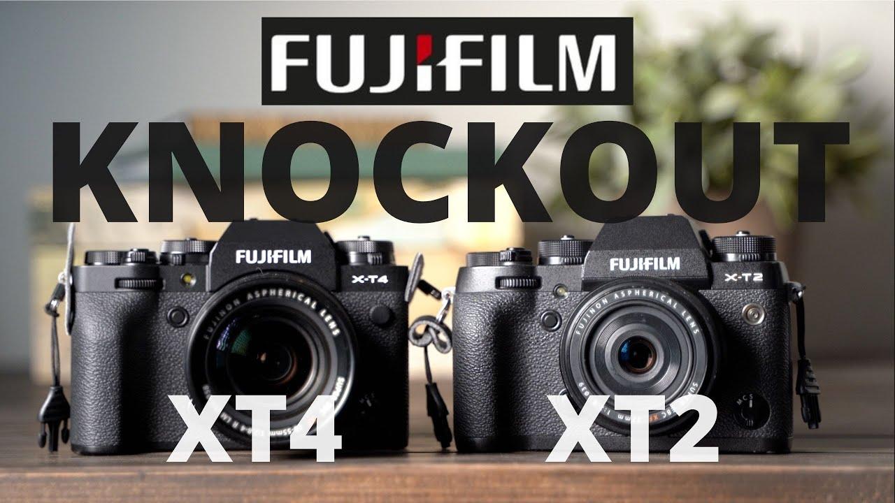 The Fujifilm XT2 knocks out the XT4!