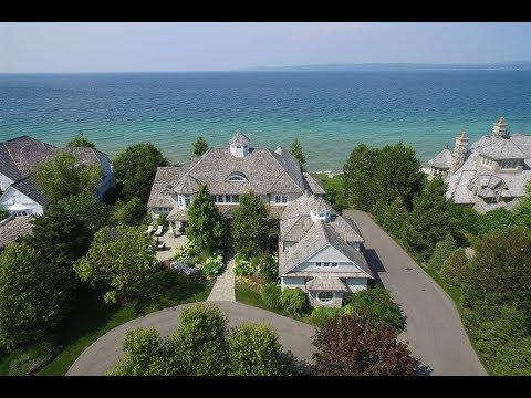 Elegant Lakefront Home In Bay Harbor, Michigan   Sotheby's International Realty