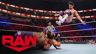 Mansoor \u0026 Mustafa Ali vs. Angel Garza \u0026 Humberto Carrillo: Raw, Sept. 20, 2021