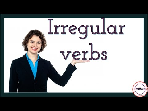 Irregular Verb Patterns, English Video Lessons