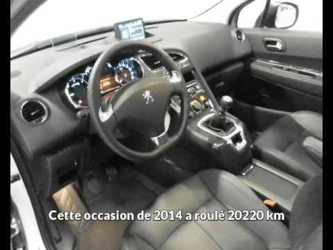 offre de peugeot 5008 2 0 hdi 150ch fap allure de 2014 en vente albi youtube. Black Bedroom Furniture Sets. Home Design Ideas