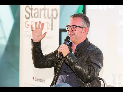 Mike Butcher (TechCrunch Editor) at Startup Grind London