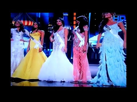 Miss Universe 2013 Top 5 Q&A portion