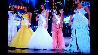 Miss Universe 2013 Top 5 Q&A portion