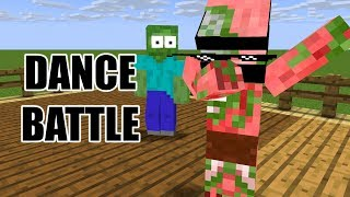 Monster School : DANCE BATTLE - Minecraft Animation