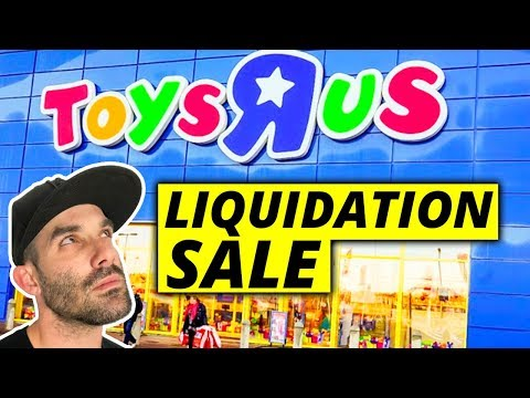 TOYS R US IS CLOSING | You have 2 Options | Dont Cry  😰
