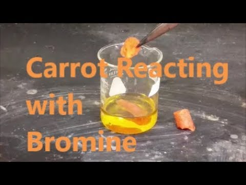 Bromine Turns Carrot White