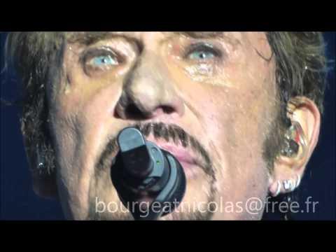Johnny Hallyday  SEUL Francofolies de La Rochelle 14 Juillet 2015