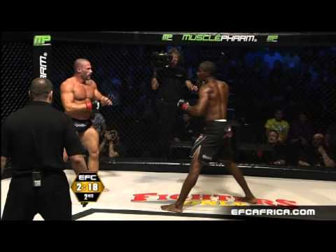Ahana vs Robinson Fight EFC AFRICA 08