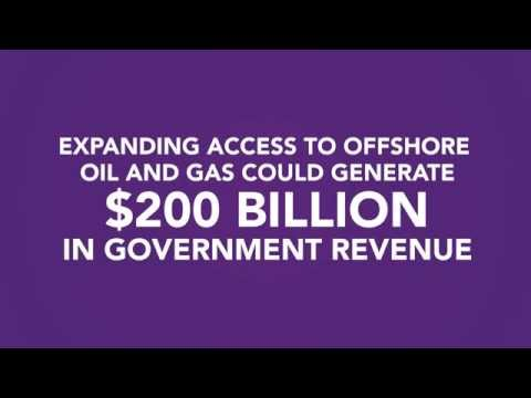 Expanding Offshore Access = $200 bil in Government Revenue