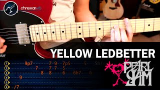 Como tocar Yellow Ledbetter en Guitarra PEARL JAM | Riff Intro Chtistianvib