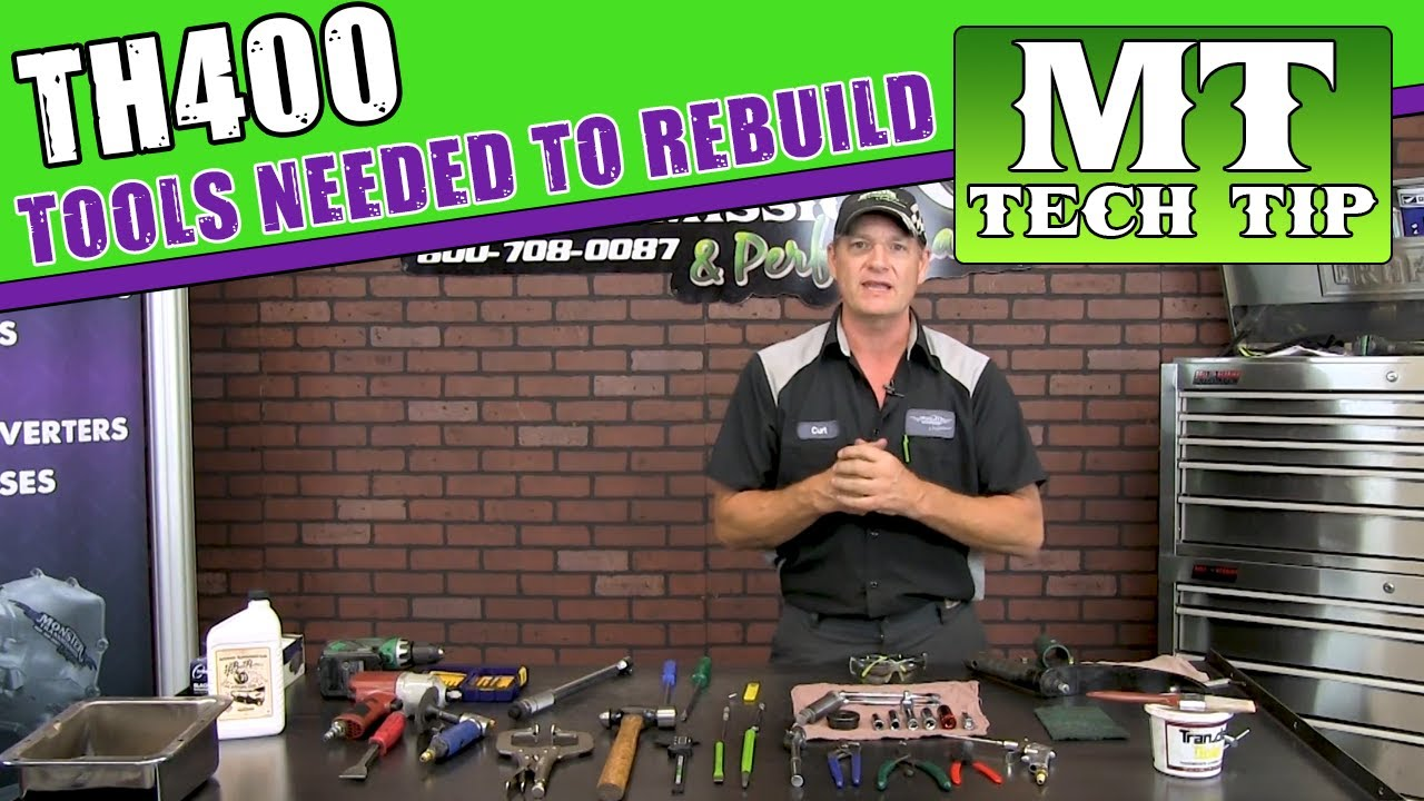 Tools needed to rebuild TH400 Automatic Transmission